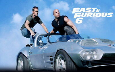 """009 Paul Walker - RIP Fast and Furious Super Movie Star 22""""x14"""" Poster"""