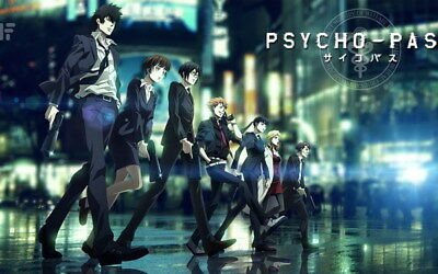 "094 PSYCHO PASS - Kougami Shinya Police Fight Anime 22""x14"" Poster"