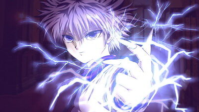 "026 Hunter X Hunter - Neferpitou Gon Killua Fight Anime 24""x14"" Poster"