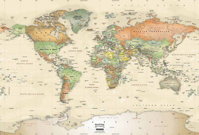 Old world map poster print 36x24 899 picclick 007 old world map 35x24 poster gumiabroncs Images
