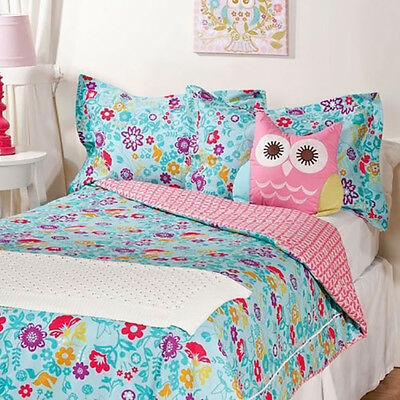 Living Textiles Lolli Living Whimsy Floral SINGLE BED Comforter & 2 Pillow Cases