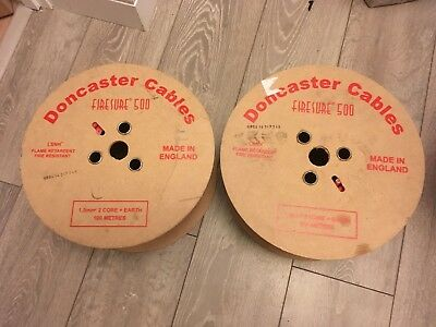 Doncaster cables Firesure 500 1.5mm 2 core & earth 100m reel
