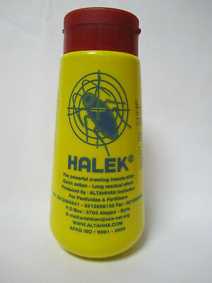 HALEK POWDER 100g - ANT, FLEA, BEDBUG, SILVERFISH, COCKROACH, INSECT KILLER