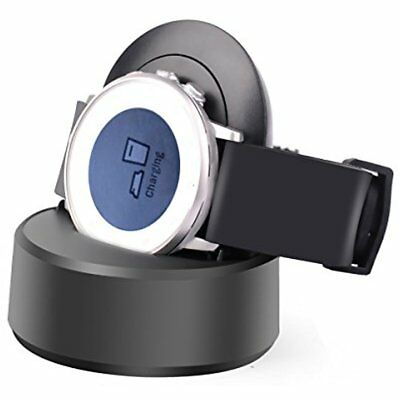 Pebble Time Round Charge Stand - Charger Cradle Dock, Charging Station For Smart