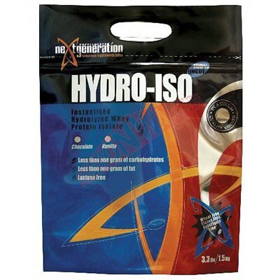 Next Generation Supplements HYDRO ISO WPI Iced Coffee *Aust Brand - 1.5Kg Or 3Kg