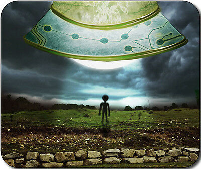 UFO Alien Large Mousepad Mouse Pad Great Gift Idea