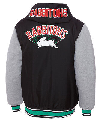 South Sydney Rabbitohs 2018 Mens Varsity Hoody Jacket Sizes S-5XL BNWT