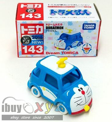 new TAKARA TOMY Dream Tomica 143 Doraemon Car *FREE SHIP USA