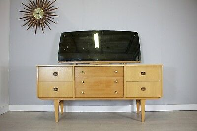 DELIVERY£55 Mid Century Retro Vintage Light Dressing Table /  Sideboard