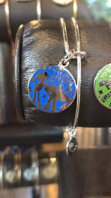 Disney Parks The Toy Story Buzz and Woody Bangles by Alex & Ani Silver