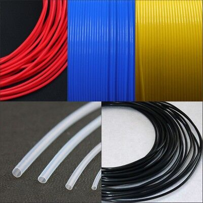 5 Meter  0.3-7.46mm Id 150V AWG L PTFE Teflon Tube Sleeve Wall 0.15/0.2/0.3mm
