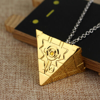 Hot Anime Yu-Gi-Oh! Millennium Puzzle Golden Pendant Necklace Cosplay Gift