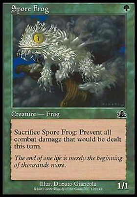 MRM FRENCH Grenouille à spores - Spore Frog MTG magic PCY
