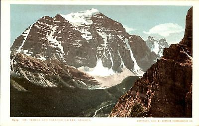 Mt Temple and Paradise Valley ~ Alberta Canada ~ UDB 1902 Detroit Photographic