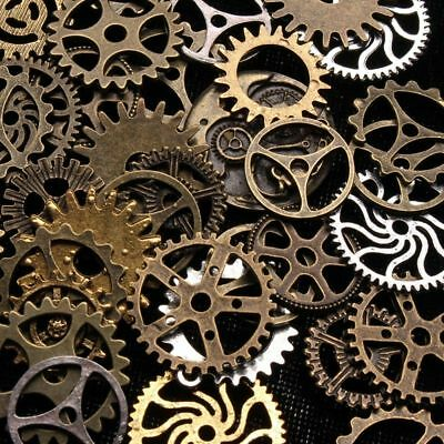 Charms Making Craft Arts Steampunk Cyberpunk Jewelry Cogs & Gears Watch Parts