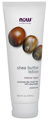 Solutions Shea Butter Lotion Now Foods 4 oz Lotion