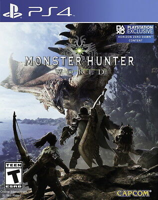 Monster Hunter: World PS4 [Factory Refurbished]