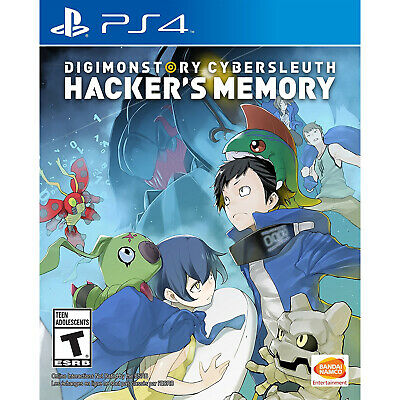 Digimon Story Cyber Sleuth: Hacker's Memory PS4 [Factory Refurbished]