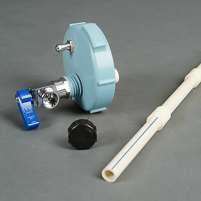 Ball Valve Pressure Kit -Scepter MWC- BLUE -Modified Cap- Military WATER Can