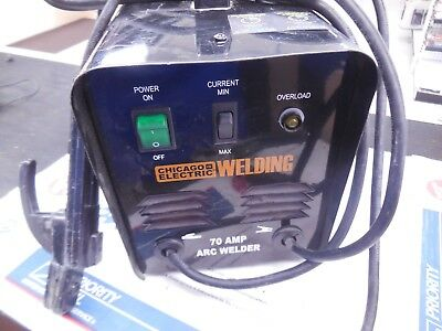 Chicago Electric 70 Amp ARC Welder 62745 LOW  PRICE
