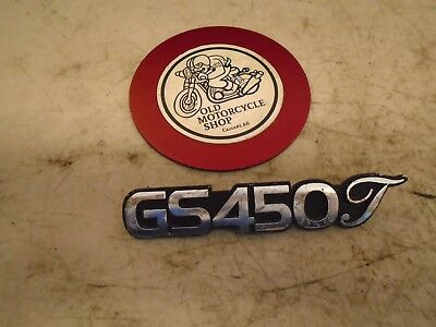 1981 - 1983 Suzuki Gs450T Side Panel Badge & Clips