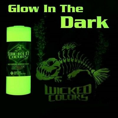 Createx Wicked Glow in the Dark Base 16oz water-based airbrush-ready luminescent