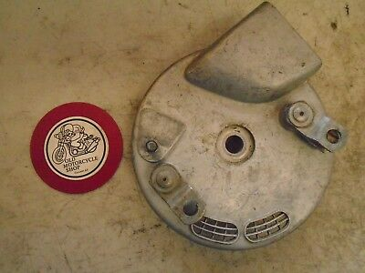 "Triumph / Bsa 8"" Tls Front Brake Plate For Conical Hub"