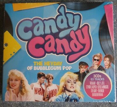 Various Artists  - Candy Candy 3CD compilation 36 tracks NEW AND SEALED