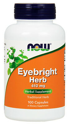 Eyebright Herb 470mg 100 Caps, Now Foods