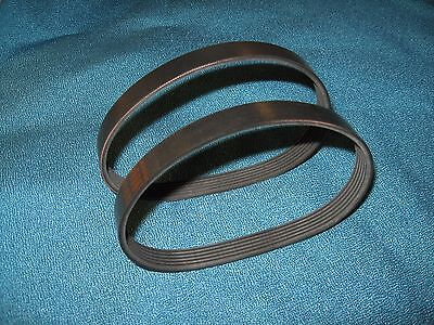 2 New High Quality Rubber Drive Belts For Delta 22-580 Planer