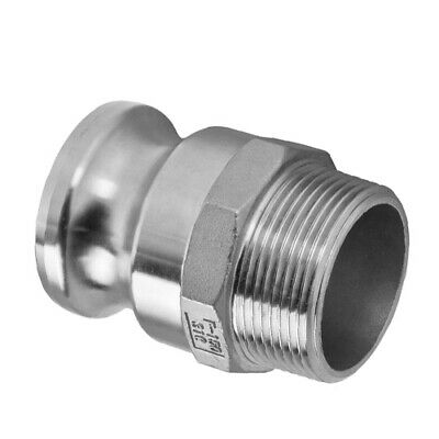 50mm (2 Inch) Camlock Fittings Stainless Steel 316 Coupling Type F