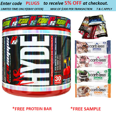 Pro Supps Mr Hyde 30 Serves Blue Razz Pre Workout Prosupps C4 Free Maxs Shake