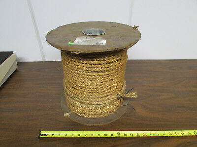 Large Roll of 1/2-Inch Manila Rope Crafts Steampunk Macrame