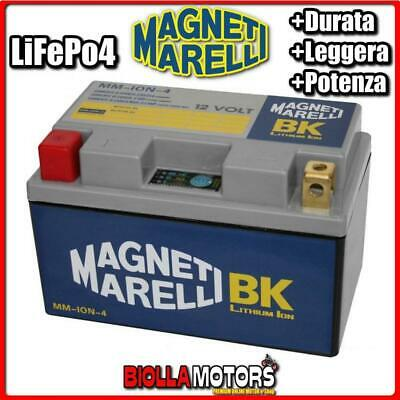MM-ION-4 BATTERIA LITIO 12V 22AH MAGNETI MARELLI YTZ14S-BS LiFePo4 YTZ14SBS MOTO