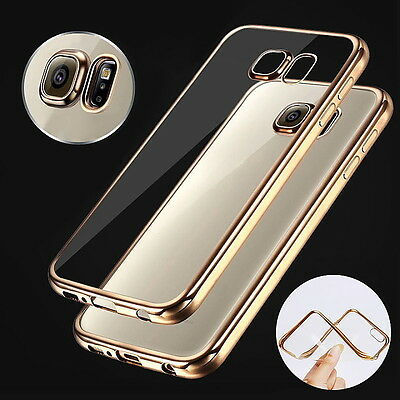 New Slim Clear Crystal TPU Phone Case Cover for Samsung Galaxy S7 Edge NOTE 7