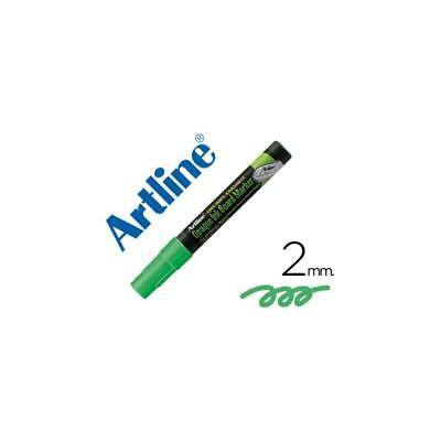 Rotulador Artline EPW-4 de color verde