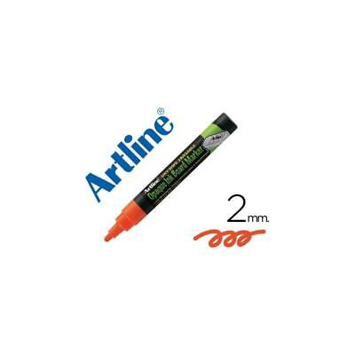 Rotulador Artline EPW-4 de color naranja