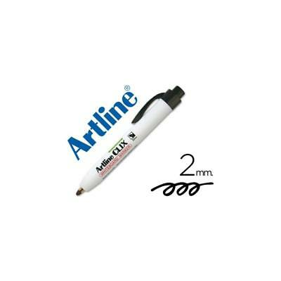 Rotulador Artline Clix negro 2mm