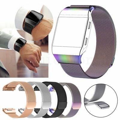 Replacement Stainless Silicone Wrist Watch band Strap Bracelets For Fitbit Ionic