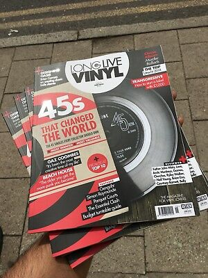 Long Live Vinyl Magazine Issue 15 June 2018 45 Seconds That Changed The World