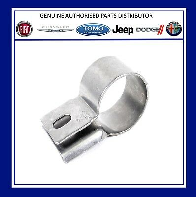 New Genuine Fiat 500 Punto Panda Front Exhaust Cat Support Clamp 51816520