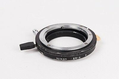 Nikon BR-4  9 Semiauto Diaphragm Ring for bellows