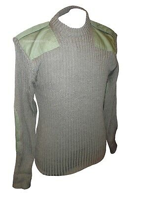Olive Green Commando Pullover - Brand New - Army Issue - 112Cm - Sp4503
