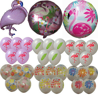 Flamingo Balloon Tropical Summer Hawaii Party Baby Shower Birthday Decor Gift