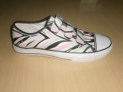 b01ca0bf00 shoes womens girls vans off the wall prison issue  23 -- size 8.5 womens