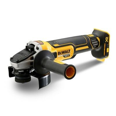 "Dewalt Dcg405N 18V Xr Li-Ion Brushless Cordless  (5"") Slide Switch Angle Grinder"