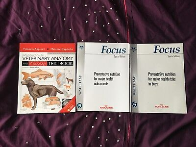 INTRODUCTION TO Veterinary Anatomy and Physiology Textbook + 2 free ...