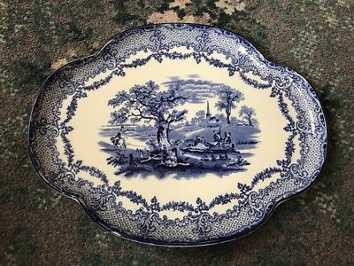 Fabulous Large Ridgeways Tray - Scenes From Charles Dickens Old Curiosity Shop