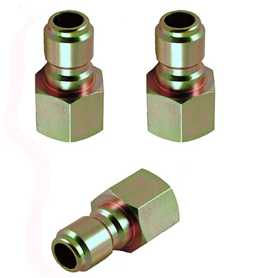 "Legacy 8.707-136.0-3PK Pressure Washer Hose Quick Coupler Plug 1/4"" FPT - 3 Pack"