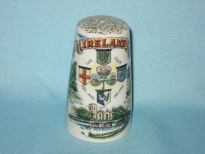 'Made In Japan' In Gaelic Salt Cellar - THE FOUR PROVINCES OF IRELAND col trans